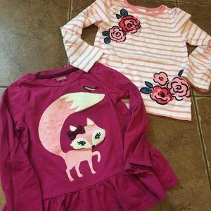 Gymboree tops, worn once
